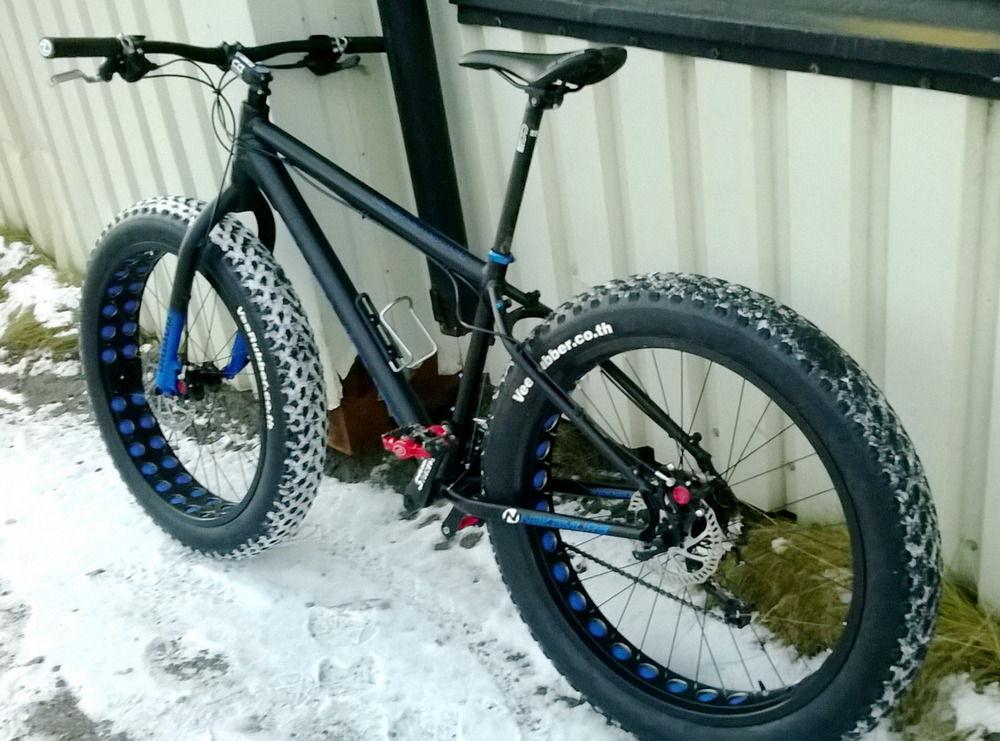 Зимние шины на велосипед
