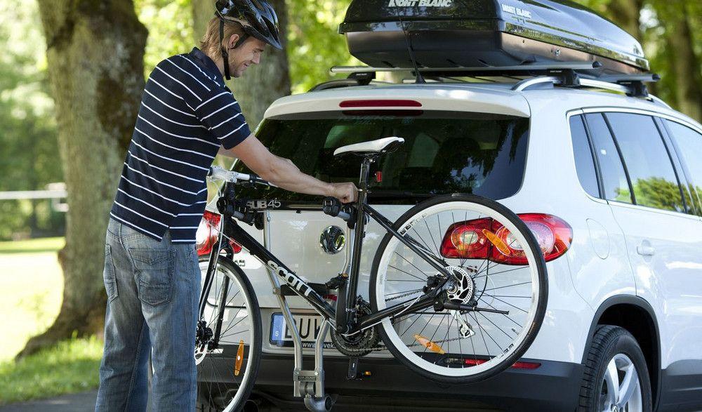 Багажник для перевозки велосипеда