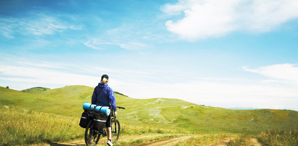 Длительная поездка на велосипеде