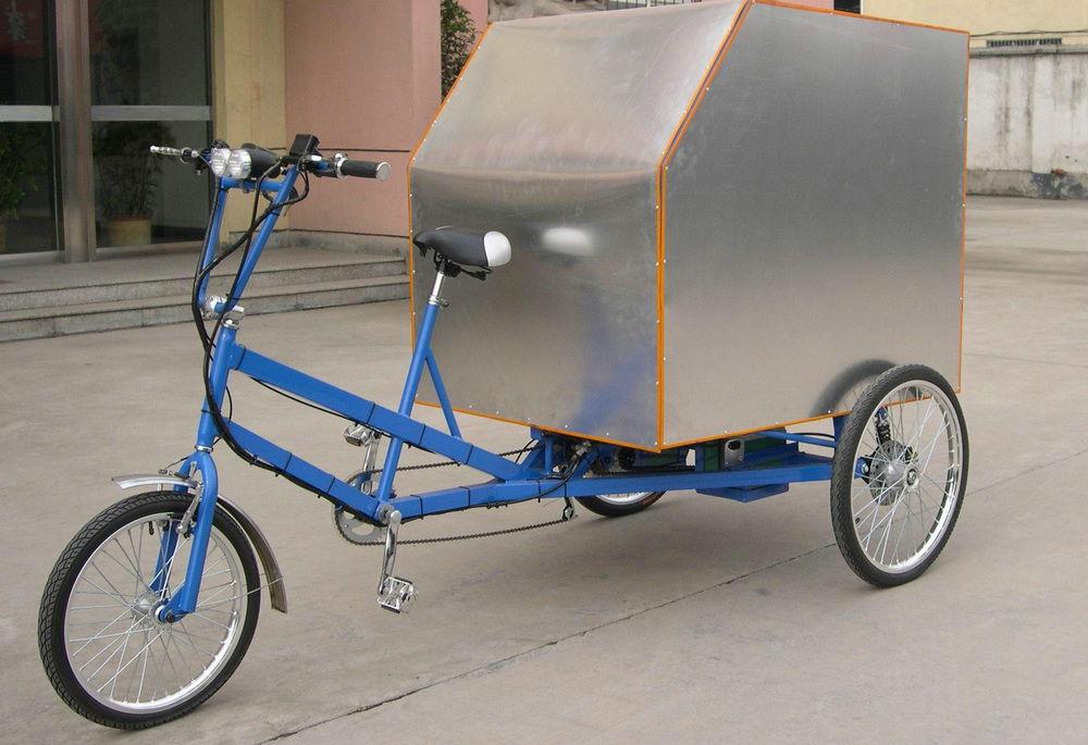 Создание велорикши из велосипеда