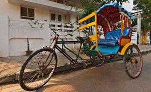 Велорикша из велосипеда