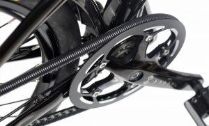 Защита велоцепи из автомобильного тюбинга