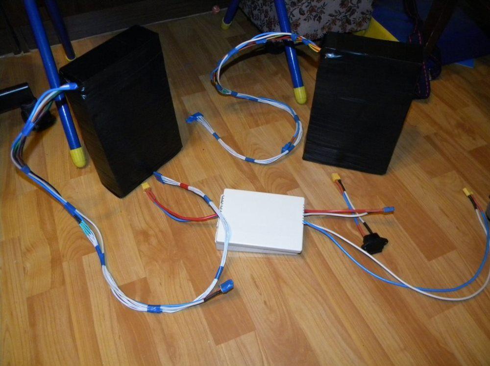 Блок аккумуляторный для байка