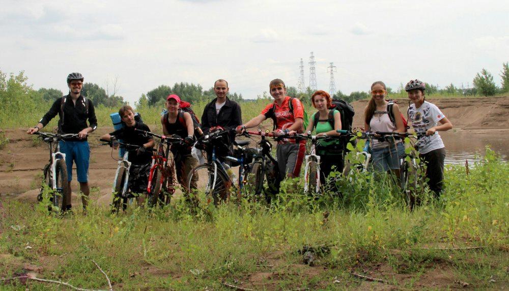 Групповое путешествие на велосипеде