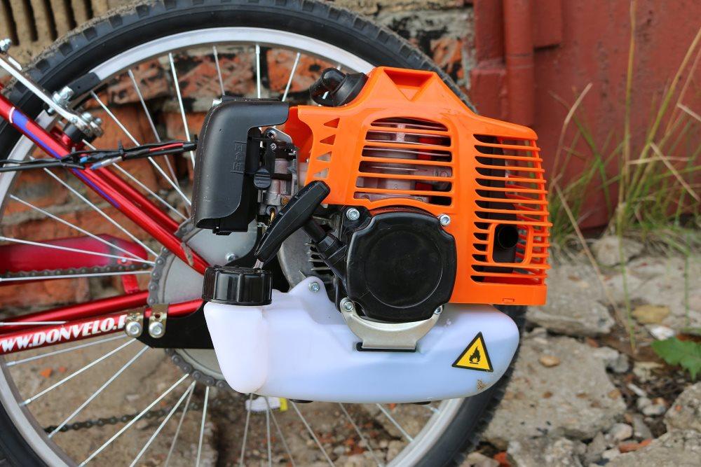 Бензопила для велосипеда своими руками 657