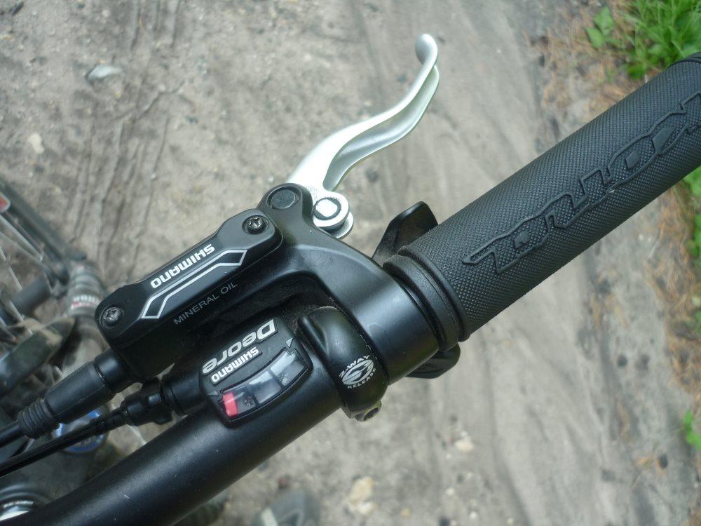 Переключатель скоростей на велосипеде