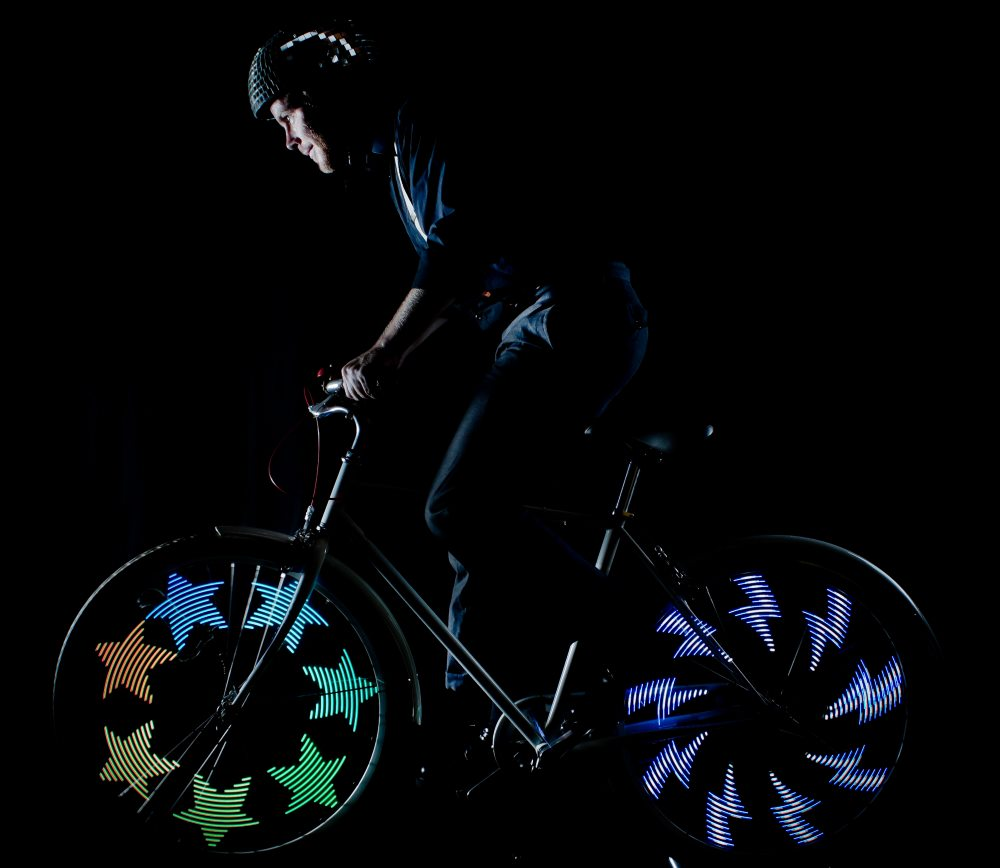 подсветка велоколес