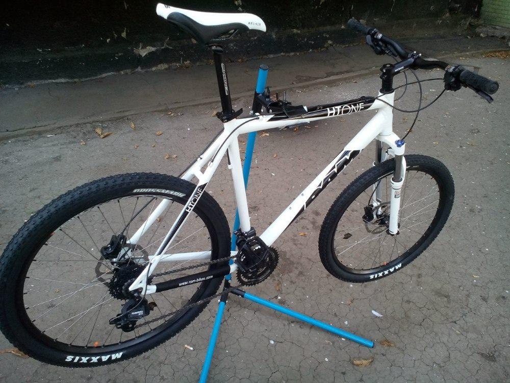 Как сделать подставку для велосипедов 68