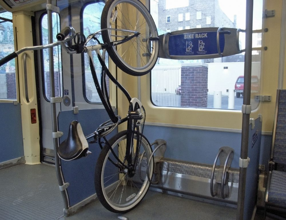 Транспортировка велосипеда