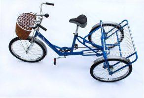 Взрослый трехколесный велосипед грузовой