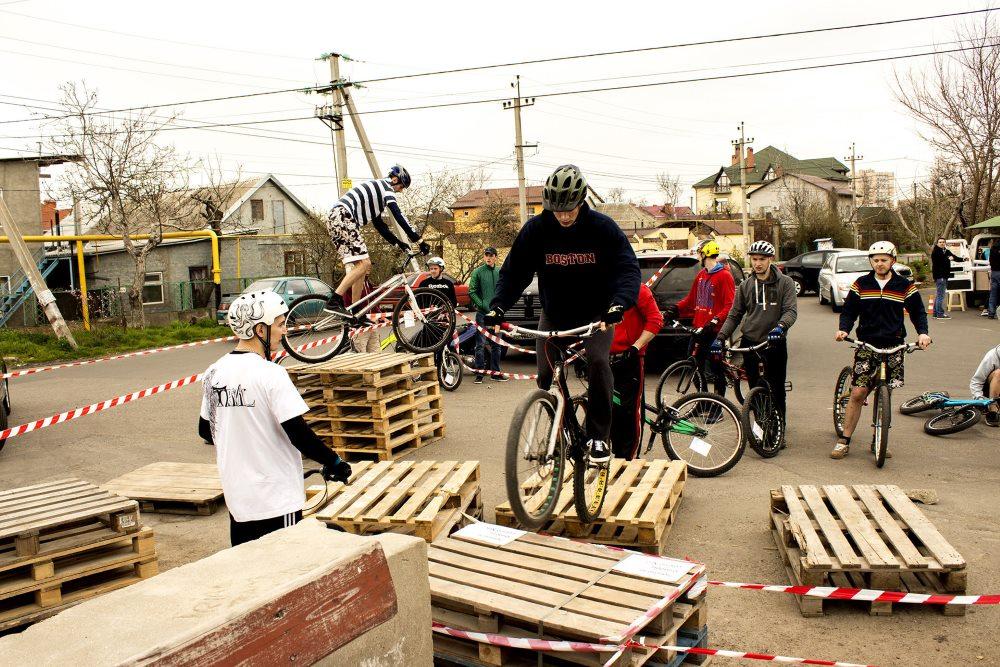 участие в велотриале