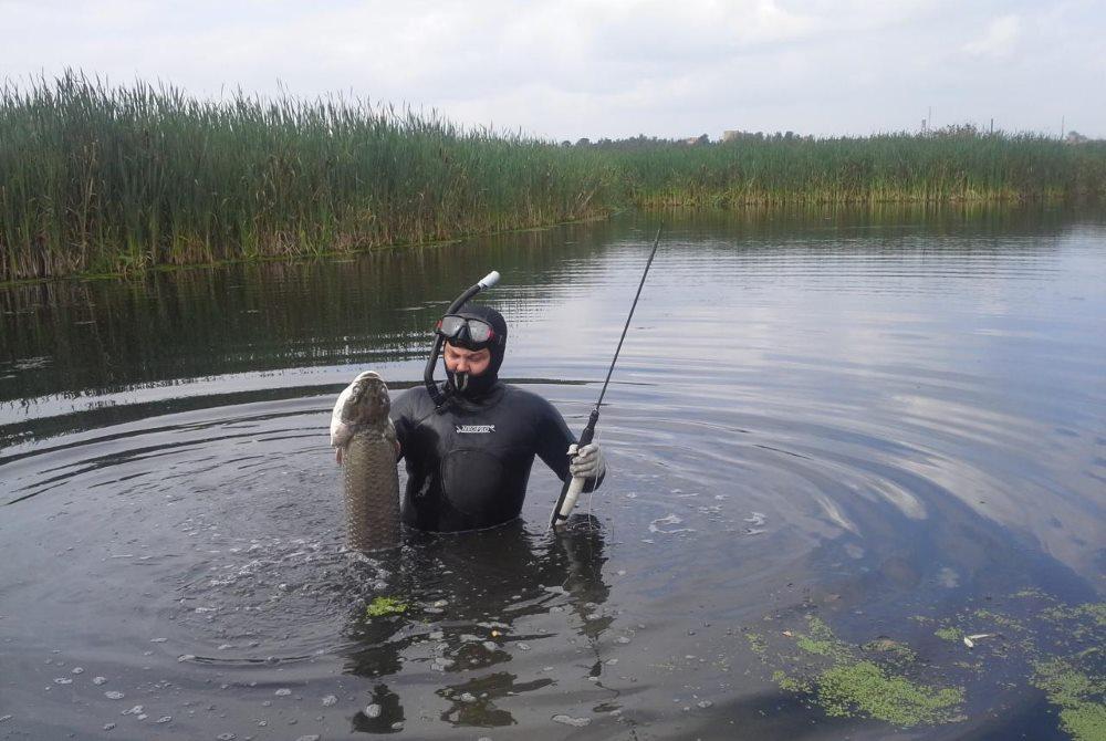 улов подводной охоты