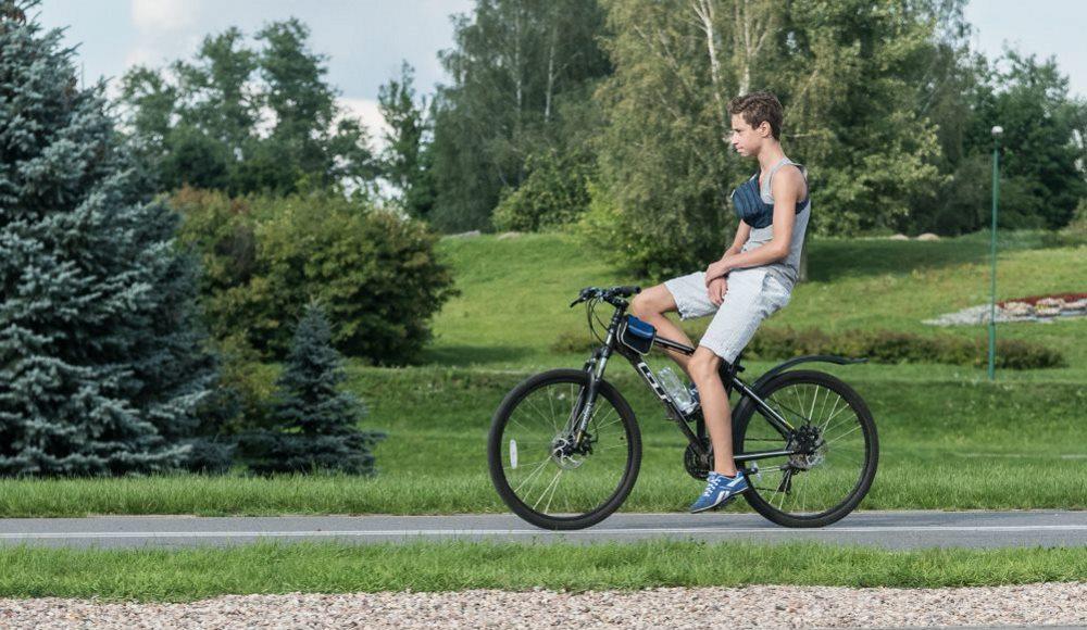 велоезда без рук