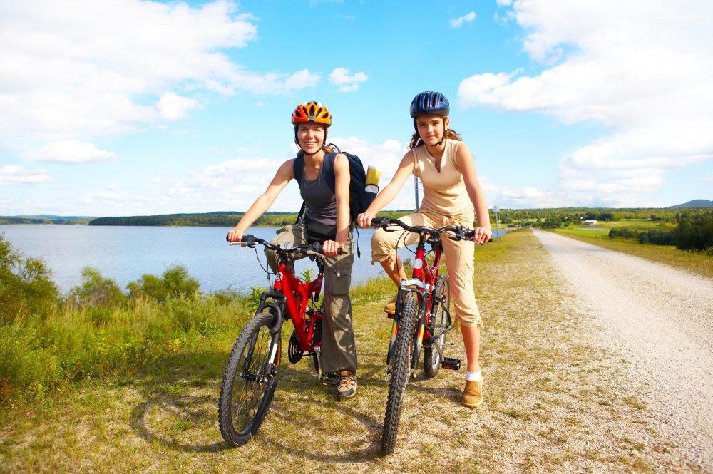 велопрогулка укрепляет здоровье