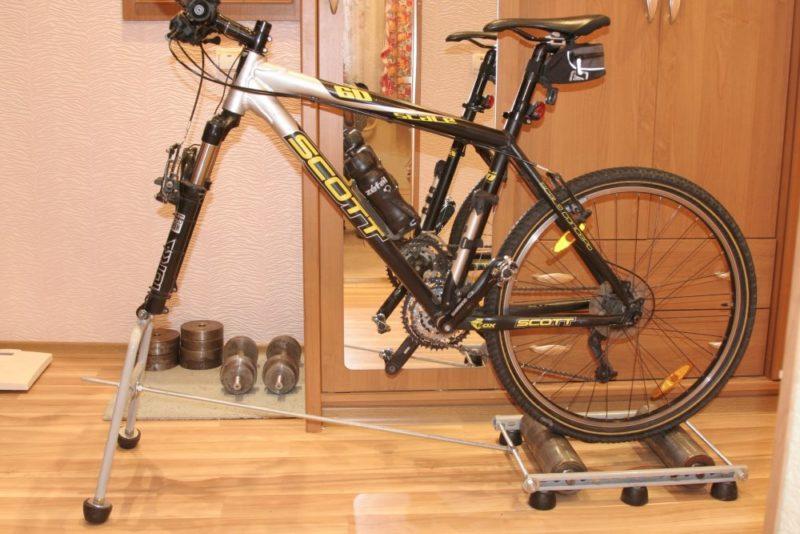 Тренажёр велосипед своими руками