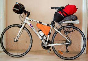 багажник для велосипедных путешествий