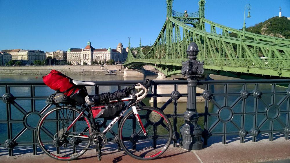 велопробег через Будапешт