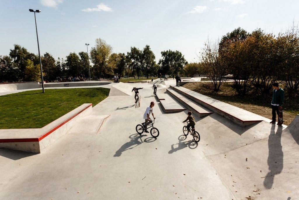 Скейт-площадка