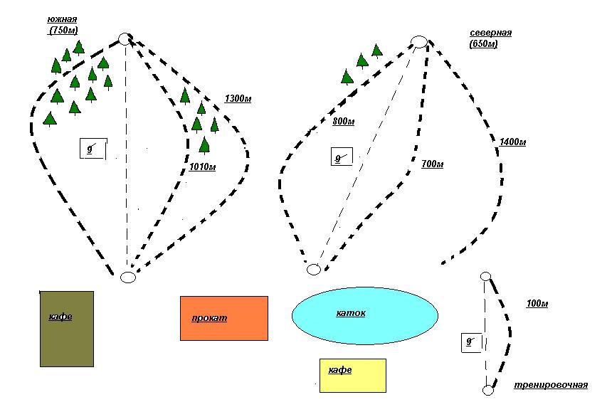 схема спусков глк ассоль