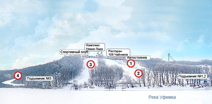 схема олимпик парк