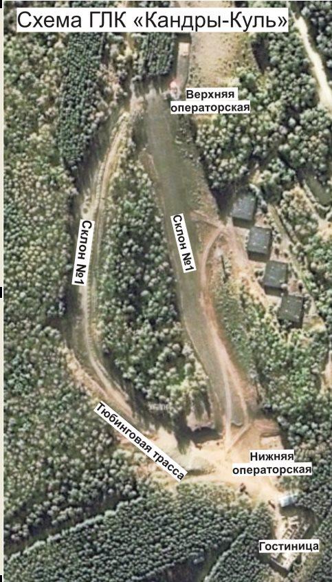 схема трасс кандрыкуль
