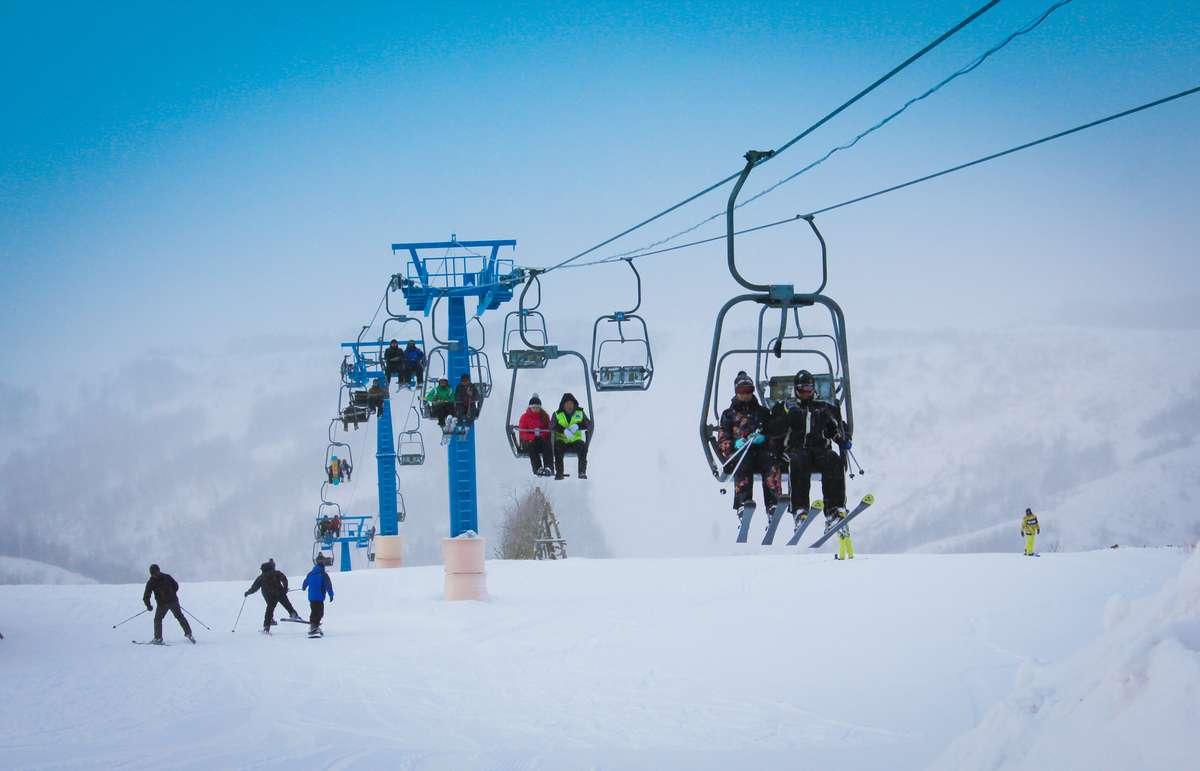 канатка на альпийских альпах