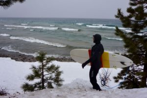 Зимний сёрфинг