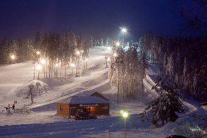 освещение трасс пухтолова гора