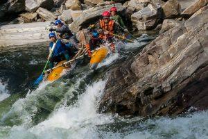 Типы водных преград по степени сложности их преодоления