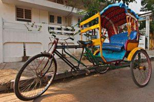 Как самостоятельно сконструировать велорикшу из велосипеда
