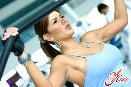 упражнения для подтягивания груди