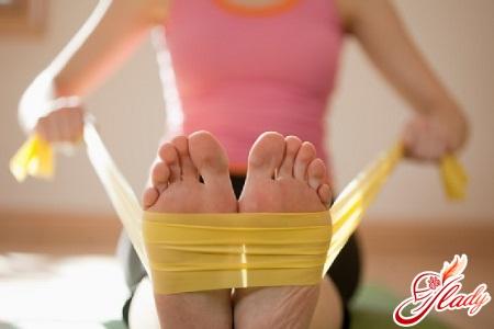эспандер для ног упражнения