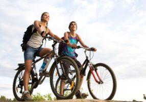 Поездка на велосипедах