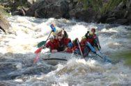 Рафтинг на реке Оне