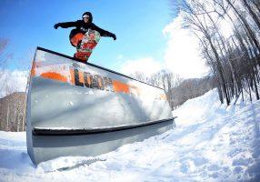 Джиббинг на сноуборде