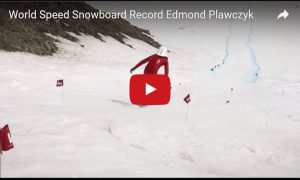 World Speed Snowboard Record