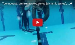 Тренировка: динамическое апноэ (dynamic apnea)