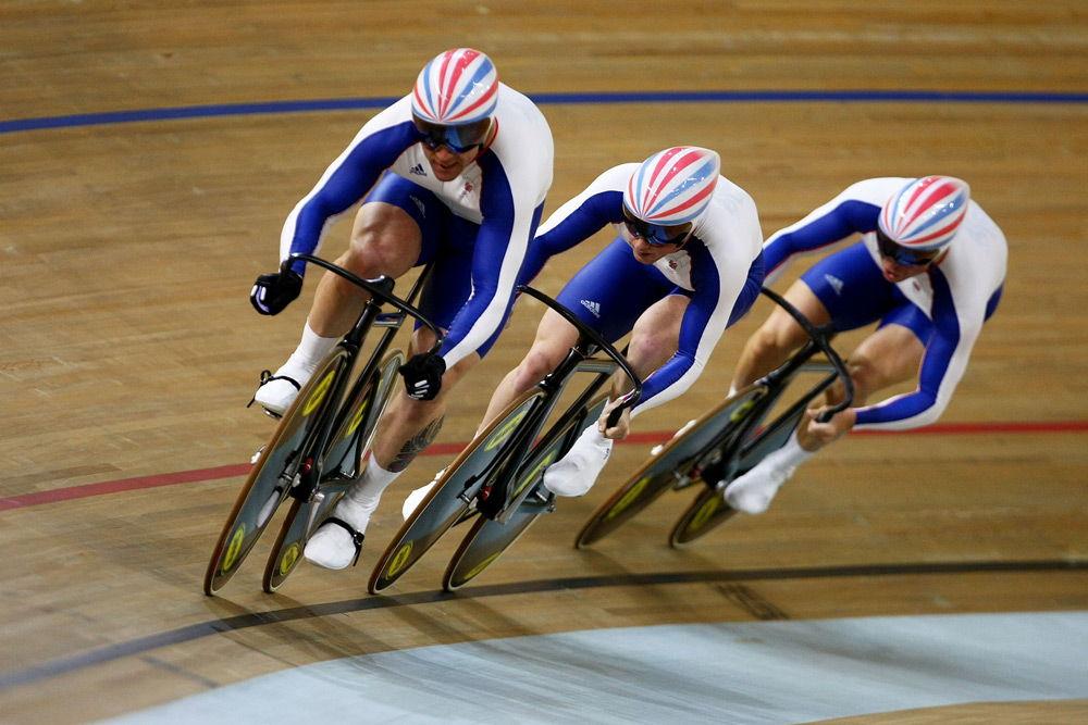 Велосипедные соревнования на треке
