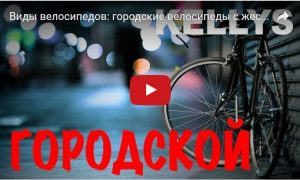 Виды велосипедов: городские велосипеды с жёсткой рамой