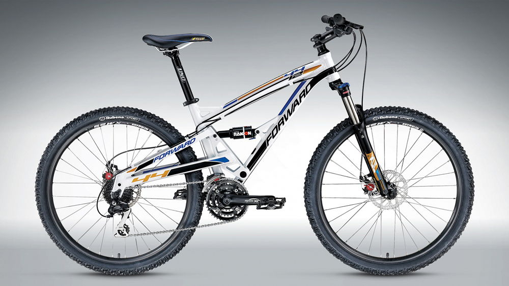 Велосипед Forward белый