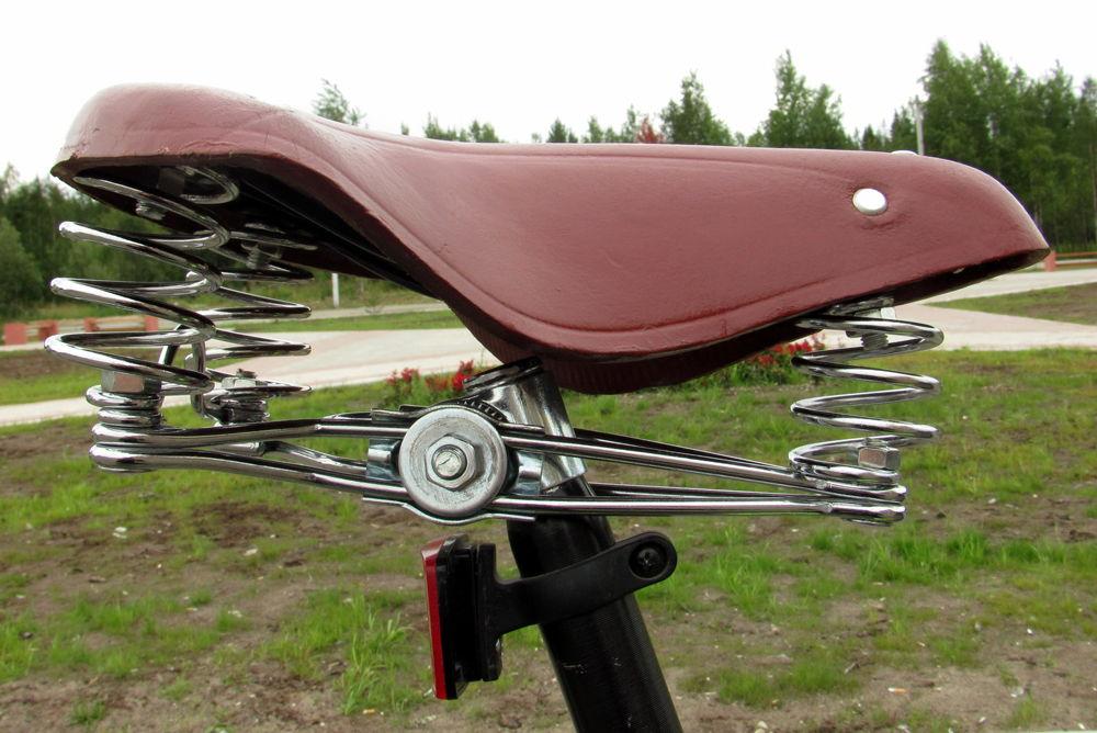 Пружинное седло для велосипеда