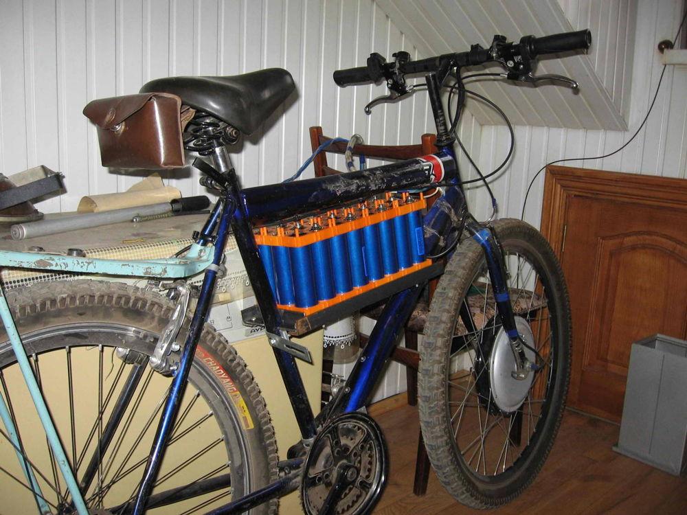 Самодельный электрический велосипед