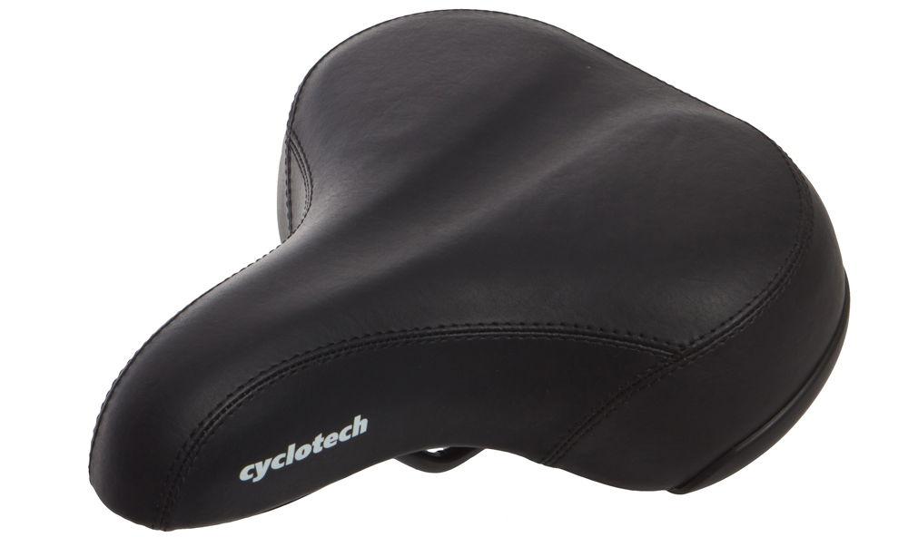 Седло велосипедное Cyclotech C-2463G чёрное