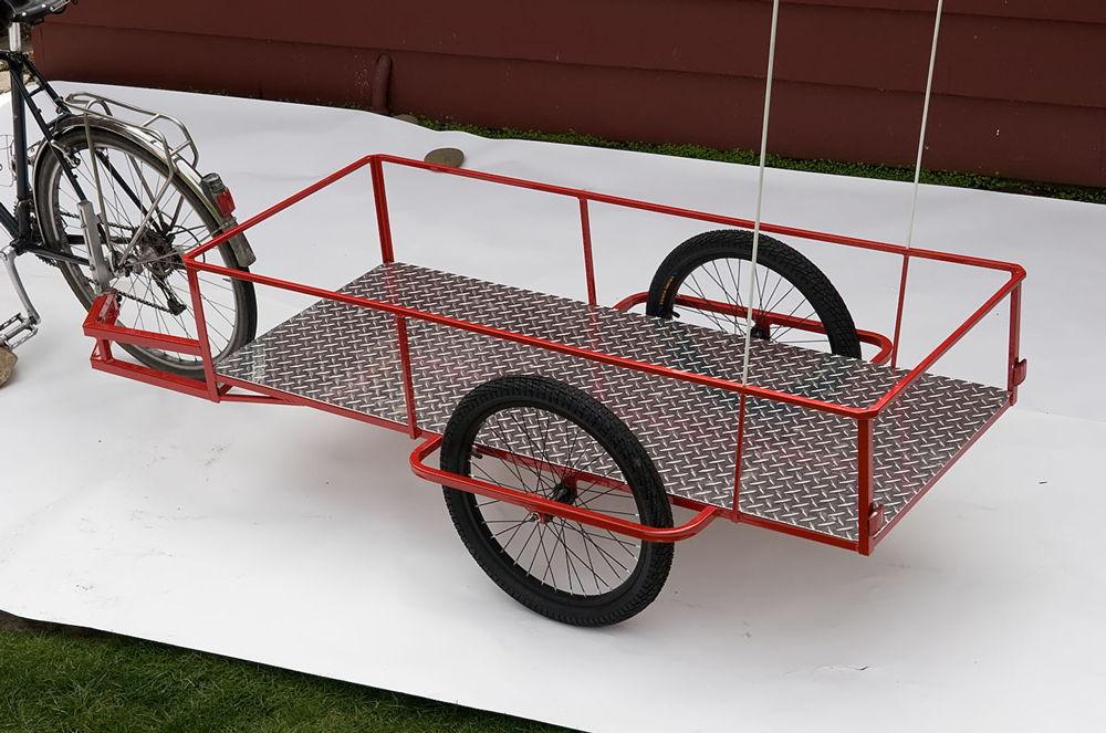 картинка прицепа для велосипеда местную
