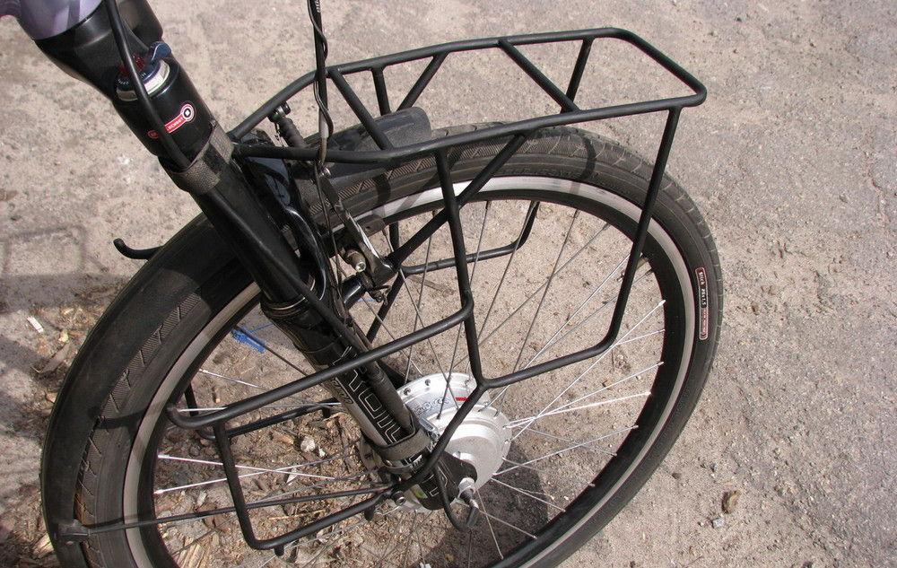 Изготовление багажника на велосипед своими руками