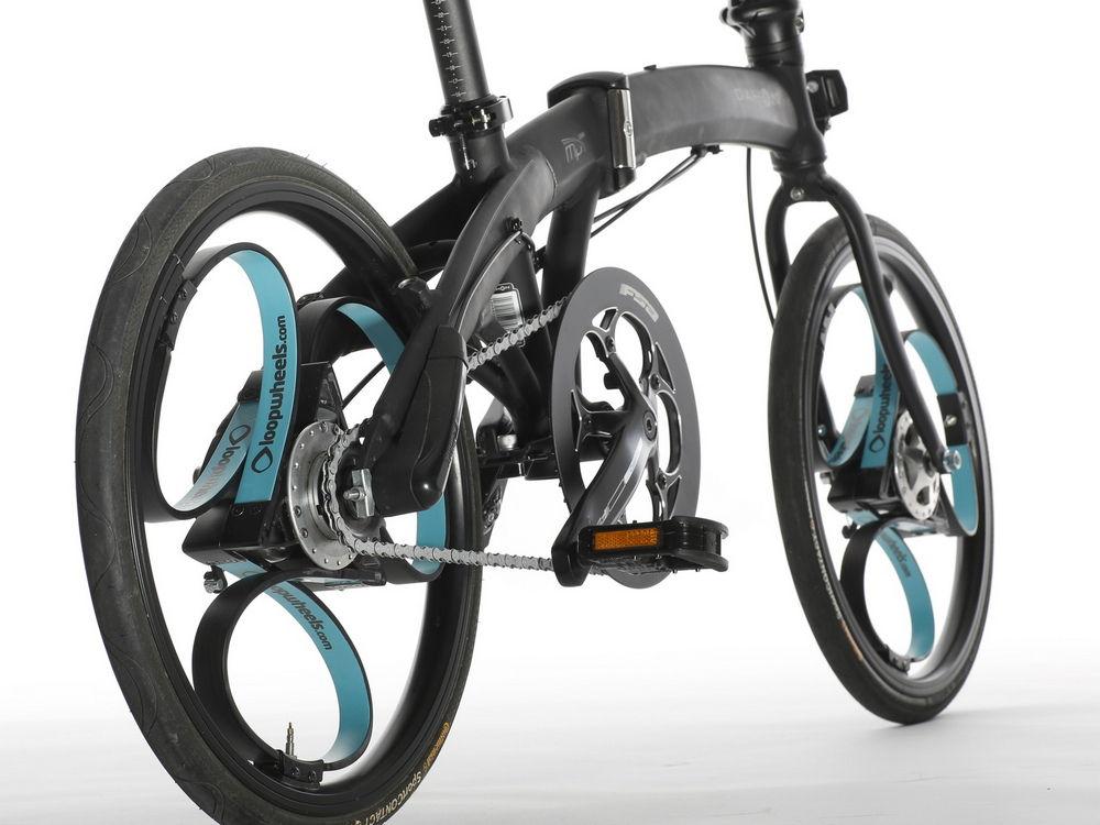 Велосипед с Loopwheel