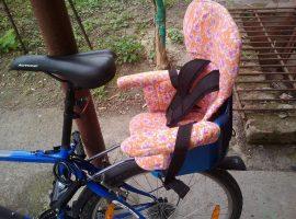 Детское велокресло своими руками