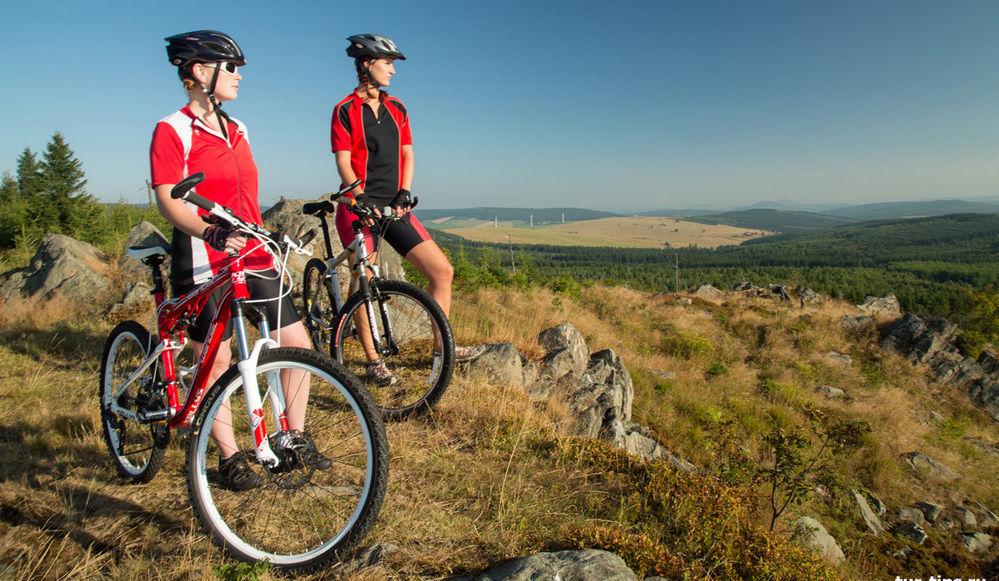 Горный велосипед для туризма