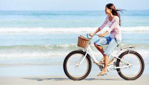 Польза езды на велосипеде для женщин