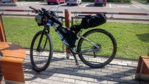 Байк с велосумками